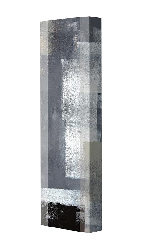 Schuhschrank FLASH Motivschrank Single F104 Abstrakt weiß