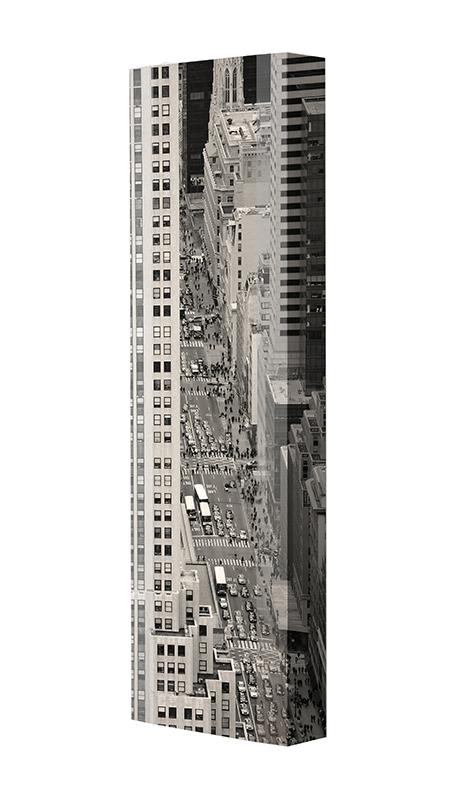Schuhschrank FLASH Motivschrank Single F106 New York weiß