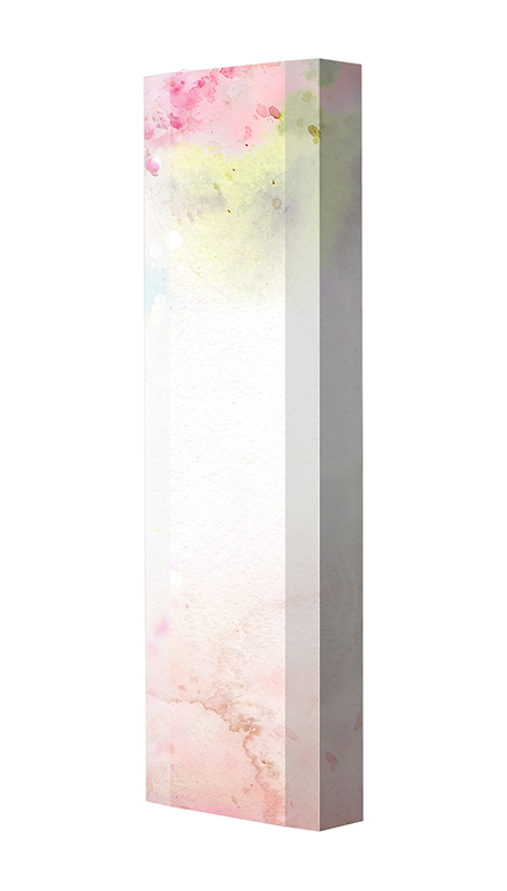 Schuhschrank FLASH Motivschrank Single F108 Blumen weiß