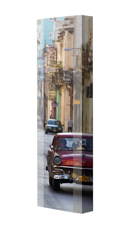 Schuhschrank FLASH Motivschrank Single F111 Cuba weiß