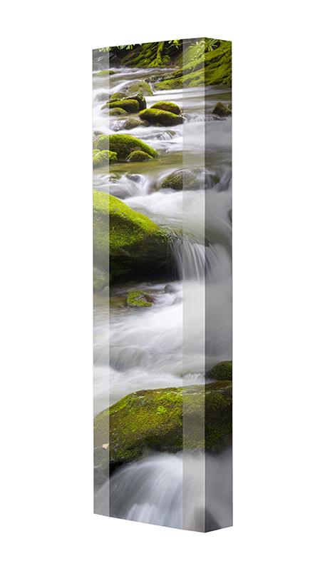 Schuhschrank FLASH Motivschrank Single F113 Wasserfall weiß