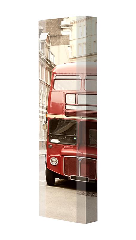 Schuhschrank FLASH Motivschrank Single F132 London weiß