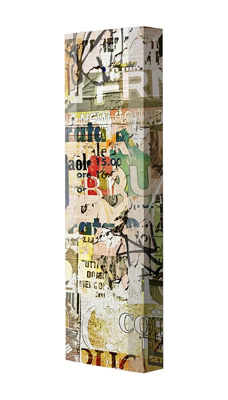 Schuhschrank FLASH Motivschrank Single F13 Plakate weiß