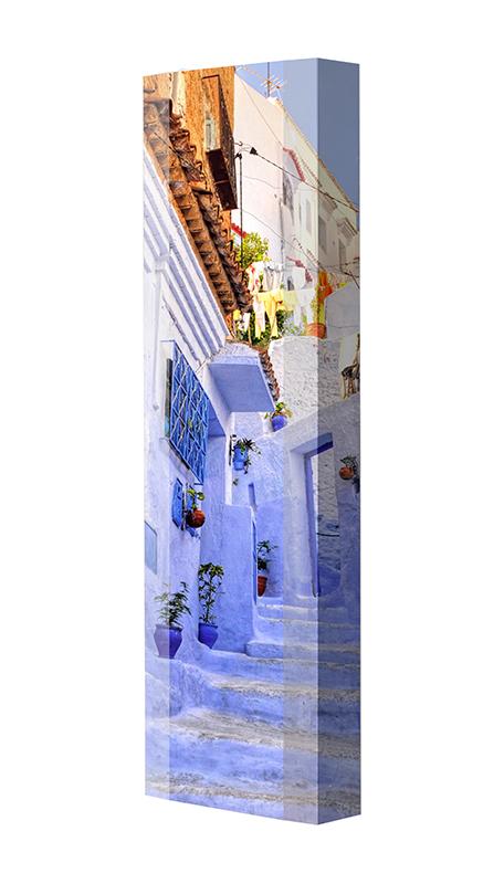 Schuhschrank FLASH Motivschrank Single F26 Marokko weiß