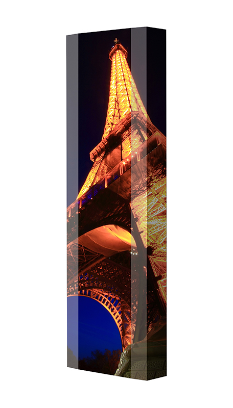 Schuhschrank FLASH Motivschrank Single F31 Paris Eifelturm weiß