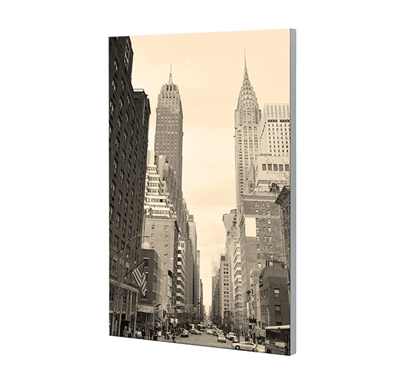 Glasbild BRIGHTNESS 40x60cm Motiv  New York GH34