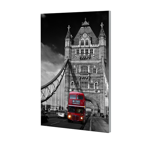 Glasbild BRIGHTNESS 40x60cm Motiv  London Bridge GH38