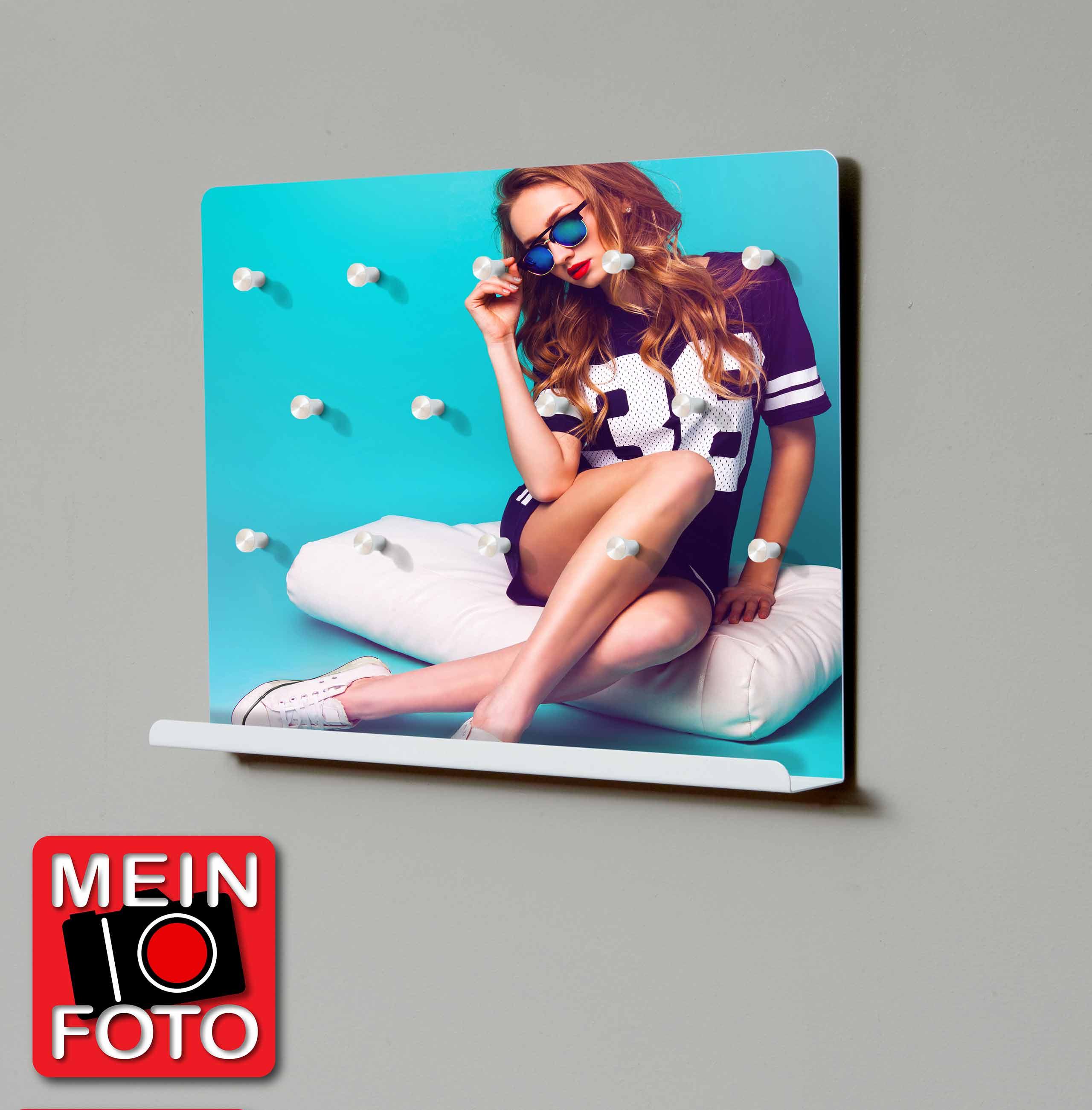 """Schlüsselbord GLOWE 40 MOTIV Schlüsselbrett mit Ablage """"Mein Foto"""""""