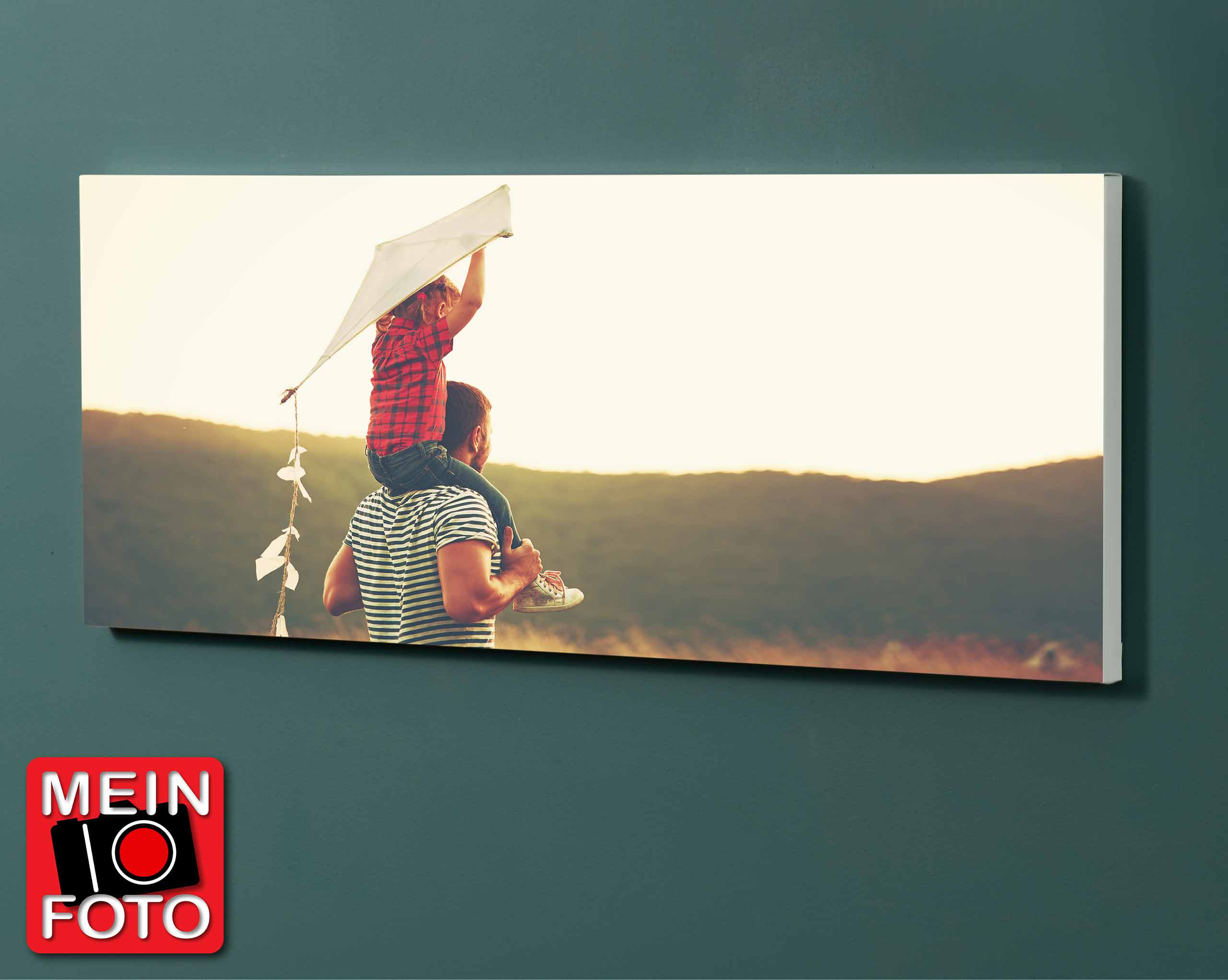 """Magnettafel NOTIZ 120x60cm Motiv """"Mein Foto"""" Motiv-Pinnwand"""