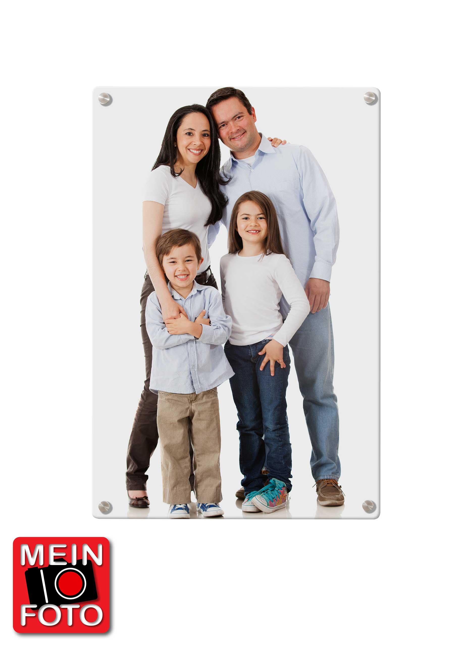 "Magnettafel PREMIUM 40x60cm Motiv ""Mein Foto"" Motiv-Pinnwand"