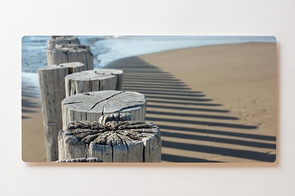 Magnettafel BACKLIGHT 120x60cm Motiv-Wandbild M03 Strand