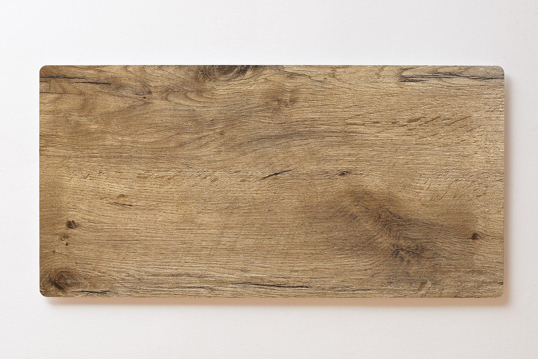 Magnettafel BACKLIGHT 120x60cm Motiv-Wandbild M109 Holz Rustikal