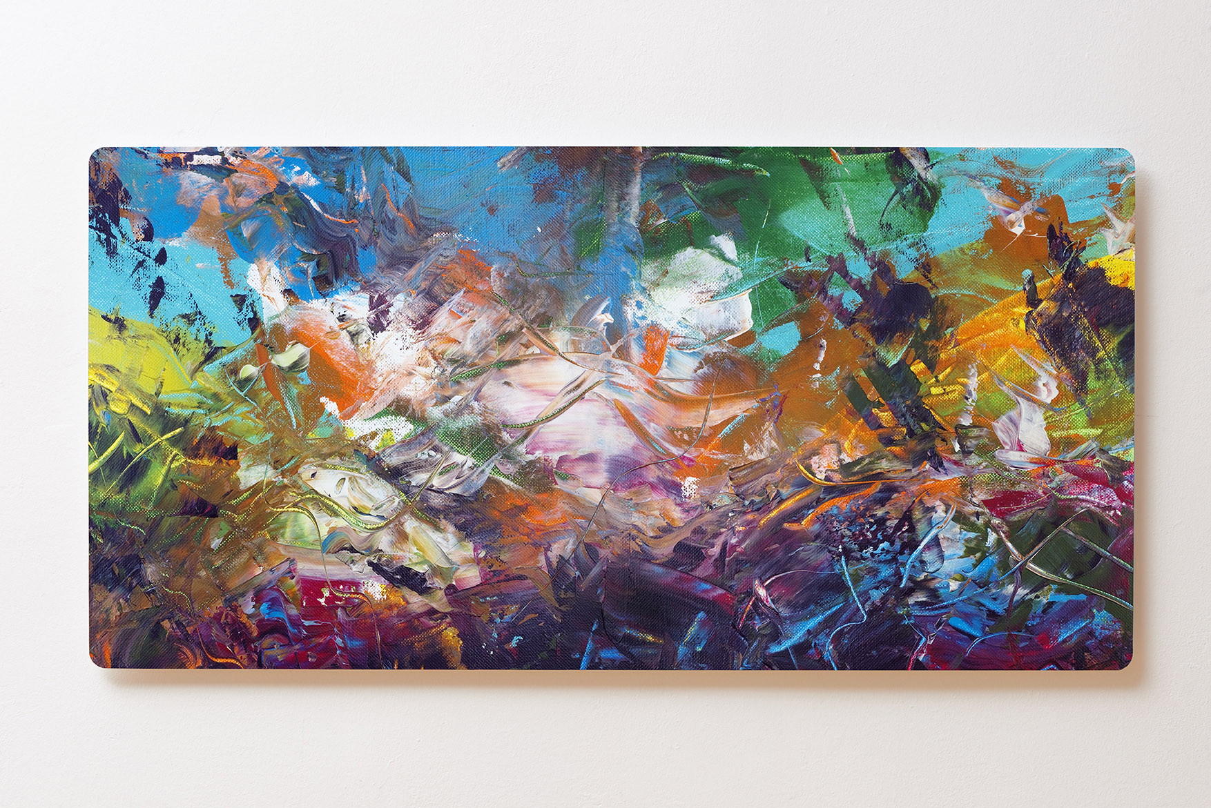 Magnettafel BACKLIGHT 120x60cm Motiv-Wandbild M110 Abstrakt Kunst