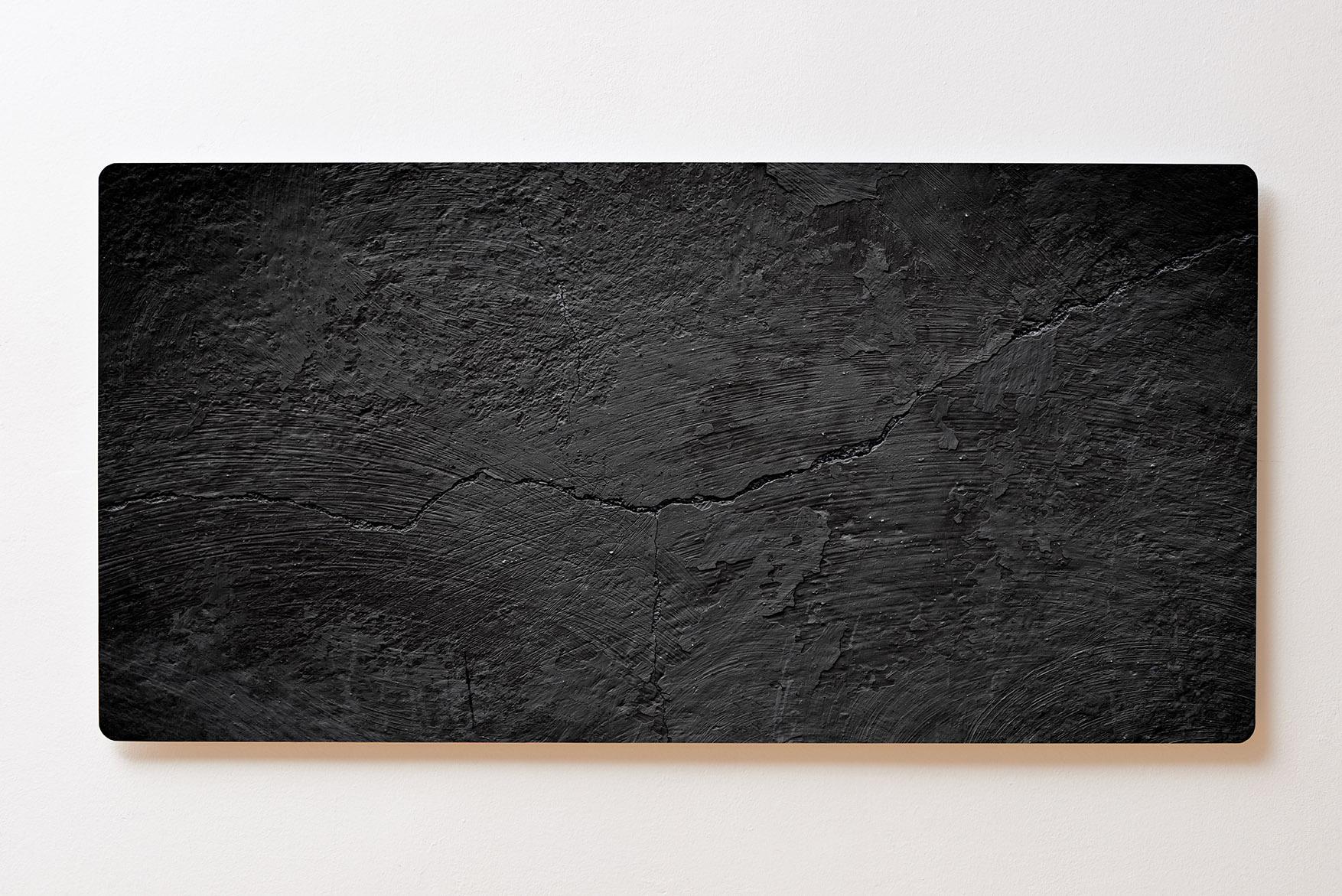 Magnettafel BACKLIGHT 120x60cm Motiv-Wandbild M115 Betonwand Schwarz