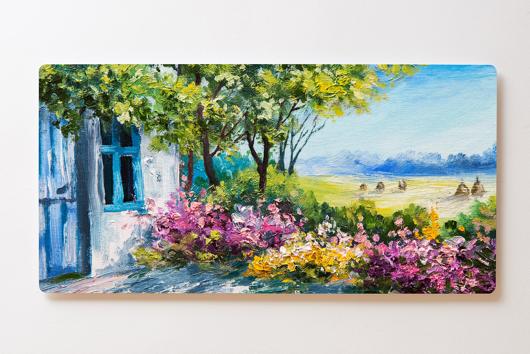 Magnettafel BACKLIGHT 120x60cm Motiv-Wandbild M117 Gemälde Landhaus
