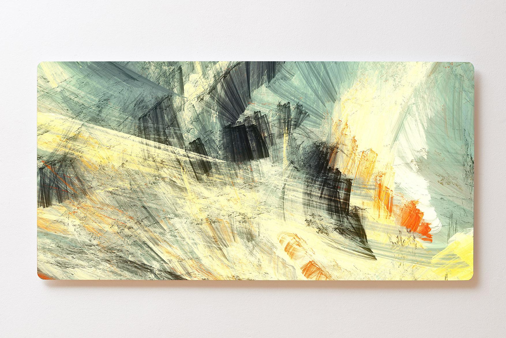 Magnettafel BACKLIGHT 120x60cm Motiv-Wandbild M128 Abstrakt Kunst