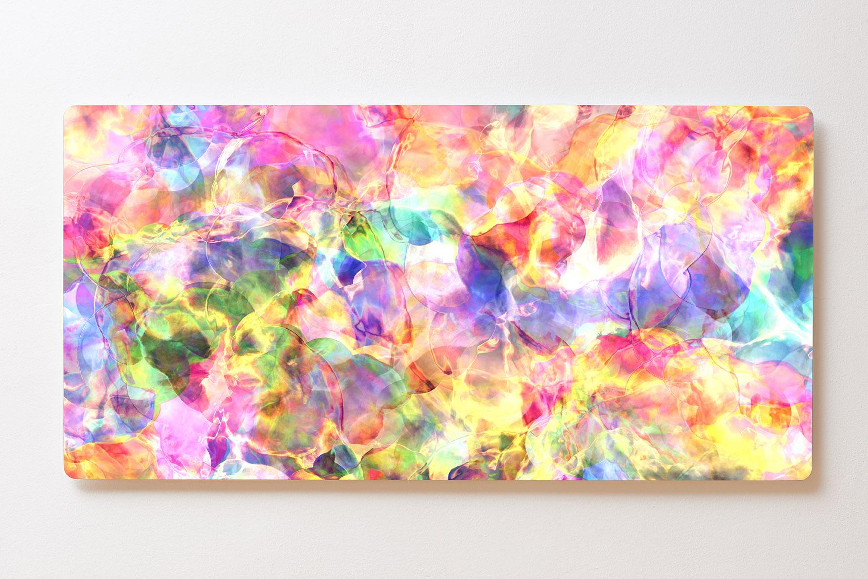 Magnettafel BACKLIGHT 120x60cm Motiv-Wandbild M133 Abstrakt Kunst