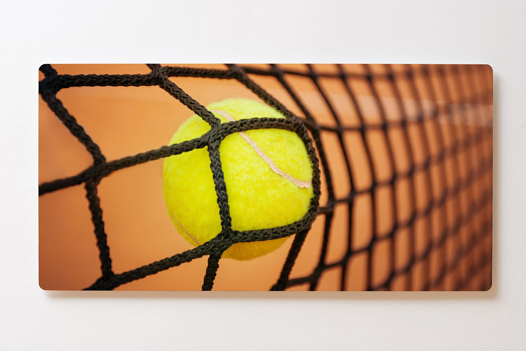 Magnettafel BACKLIGHT 120x60cm Motiv-Wandbild M138 Tennis Tennisball