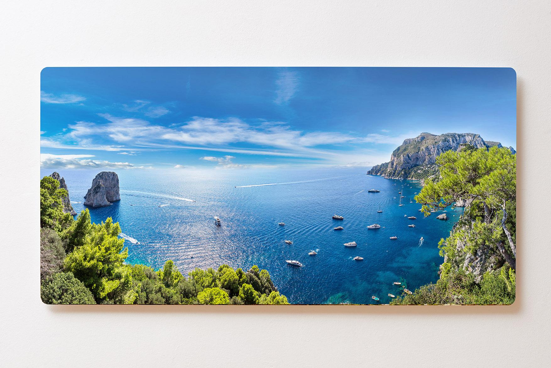 Magnettafel BACKLIGHT 120x60cm Motiv-Wandbild M140 Meer Küste