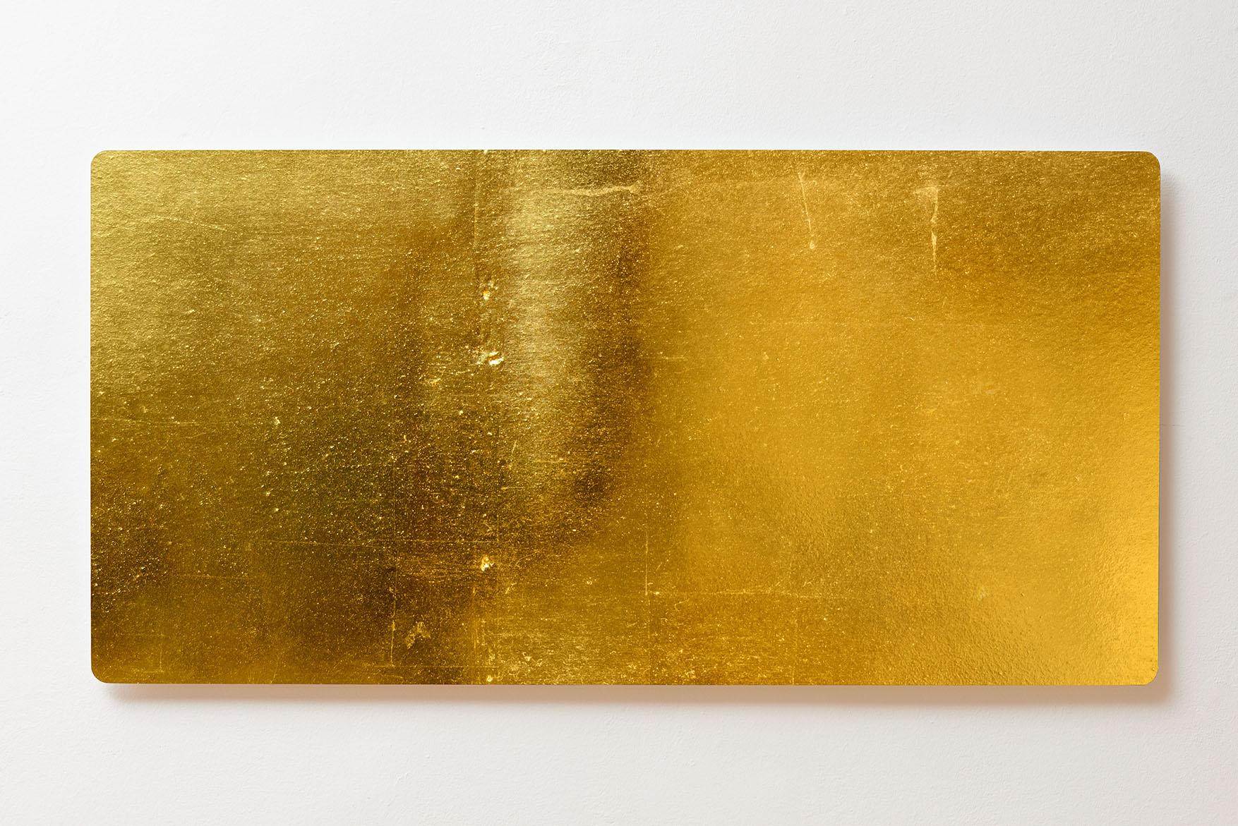 Magnettafel BACKLIGHT 120x60cm Motiv-Wandbild M151 Gold