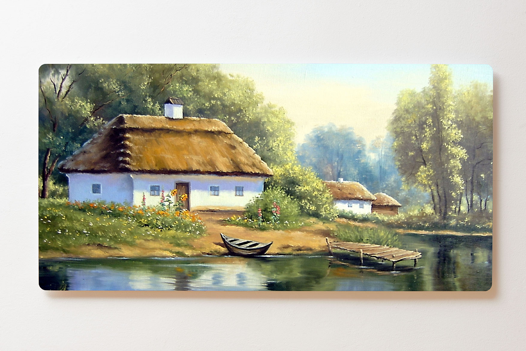 Magnettafel BACKLIGHT 120x60cm Motiv-Wandbild M160 Gemälde Landhaus