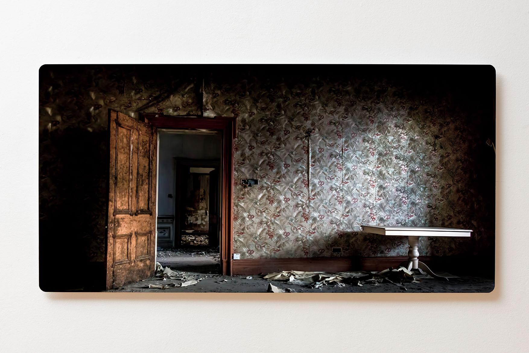 Magnettafel BACKLIGHT 120x60cm Motiv-Wandbild M162 Verlassener Ort