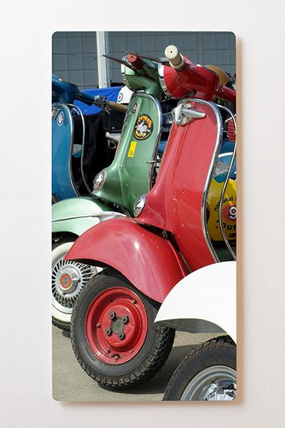 Magnettafel BACKLIGHT 60x120cm Motiv-Wandbild M01 Vespa Roller