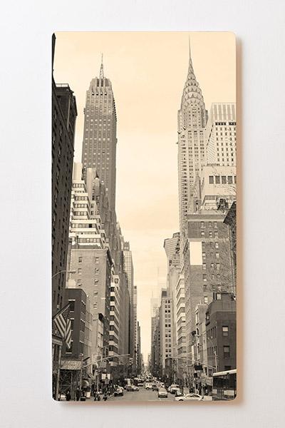 Magnettafel BACKLIGHT 60x120cm Motiv-Wandbild M08 New York