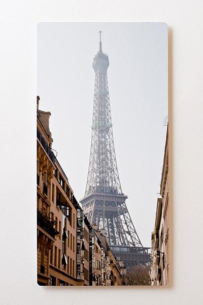 Magnettafel BACKLIGHT 60x120cm Motiv-Wandbild M09 Paris Eifelturm