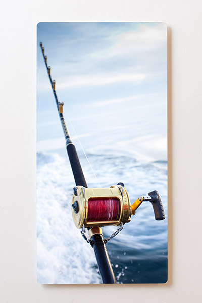 Magnettafel BACKLIGHT 60x120cm Motiv-Wandbild M11 Angeln