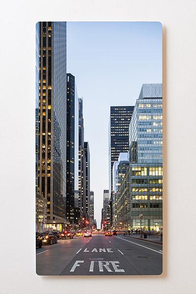Magnettafel BACKLIGHT 60x120cm Motiv-Wandbild M14 New York