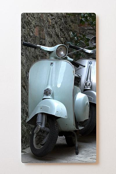 Magnettafel BACKLIGHT 60x120cm Motiv-Wandbild M17 Vespa Motorroller