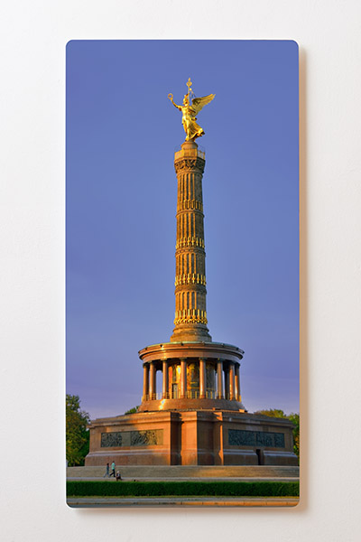 Magnettafel BACKLIGHT 60x120cm Motiv-Wandbild M18 Siegessäule