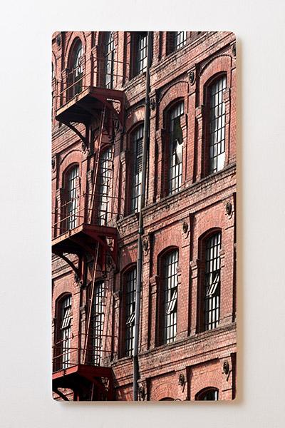 Magnettafel BACKLIGHT 60x120cm Motiv-Wandbild M20 Häuserwand