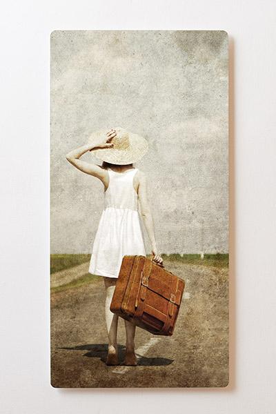 Magnettafel BACKLIGHT 60x120cm Motiv-Wandbild M24 Retro Bild