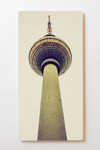 Magnettafel BACKLIGHT 60x120cm Motiv-Wandbild M31 Fernsehturm