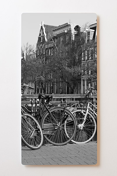 Magnettafel BACKLIGHT 60x120cm Motiv-Wandbild M32 Amsterdam