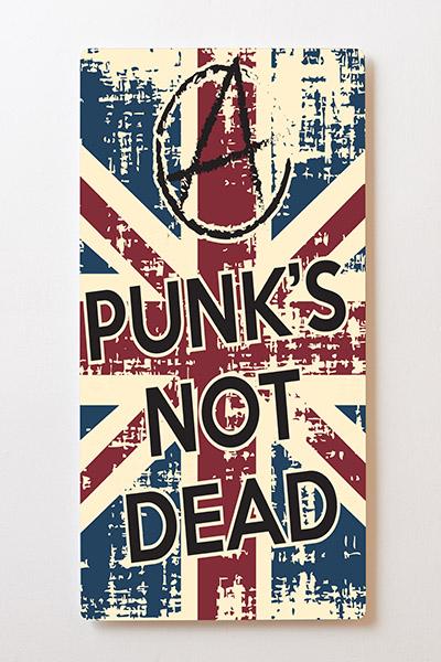 Magnettafel BACKLIGHT 60x120cm Motiv-Wandbild M34 Punks Not Dead