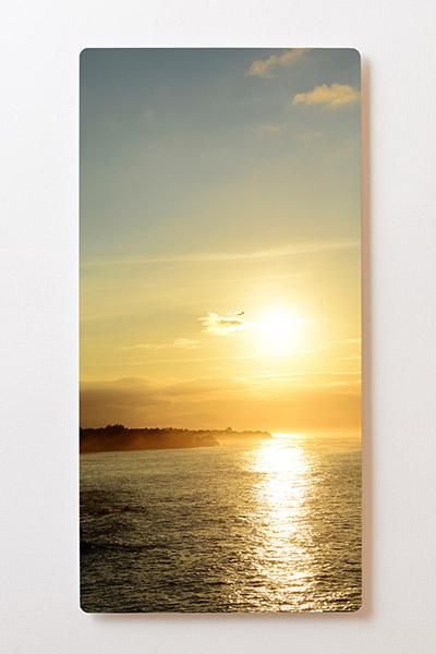 Magnettafel BACKLIGHT 60x120cm Motiv-Wandbild M36 Sonnenuntergang