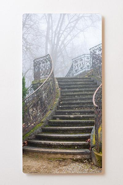 Magnettafel BACKLIGHT 60x120cm Motiv-Wandbild M53 Treppe