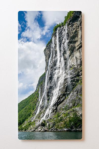 Magnettafel BACKLIGHT 60x120cm Motiv-Wandbild M55 Wasserfall