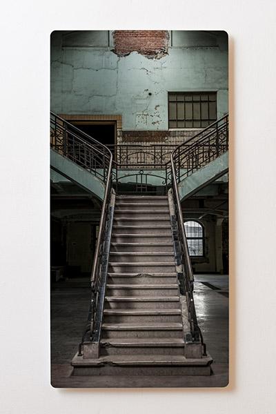 Magnettafel BACKLIGHT 60x120cm Motiv-Wandbild M58 Treppe