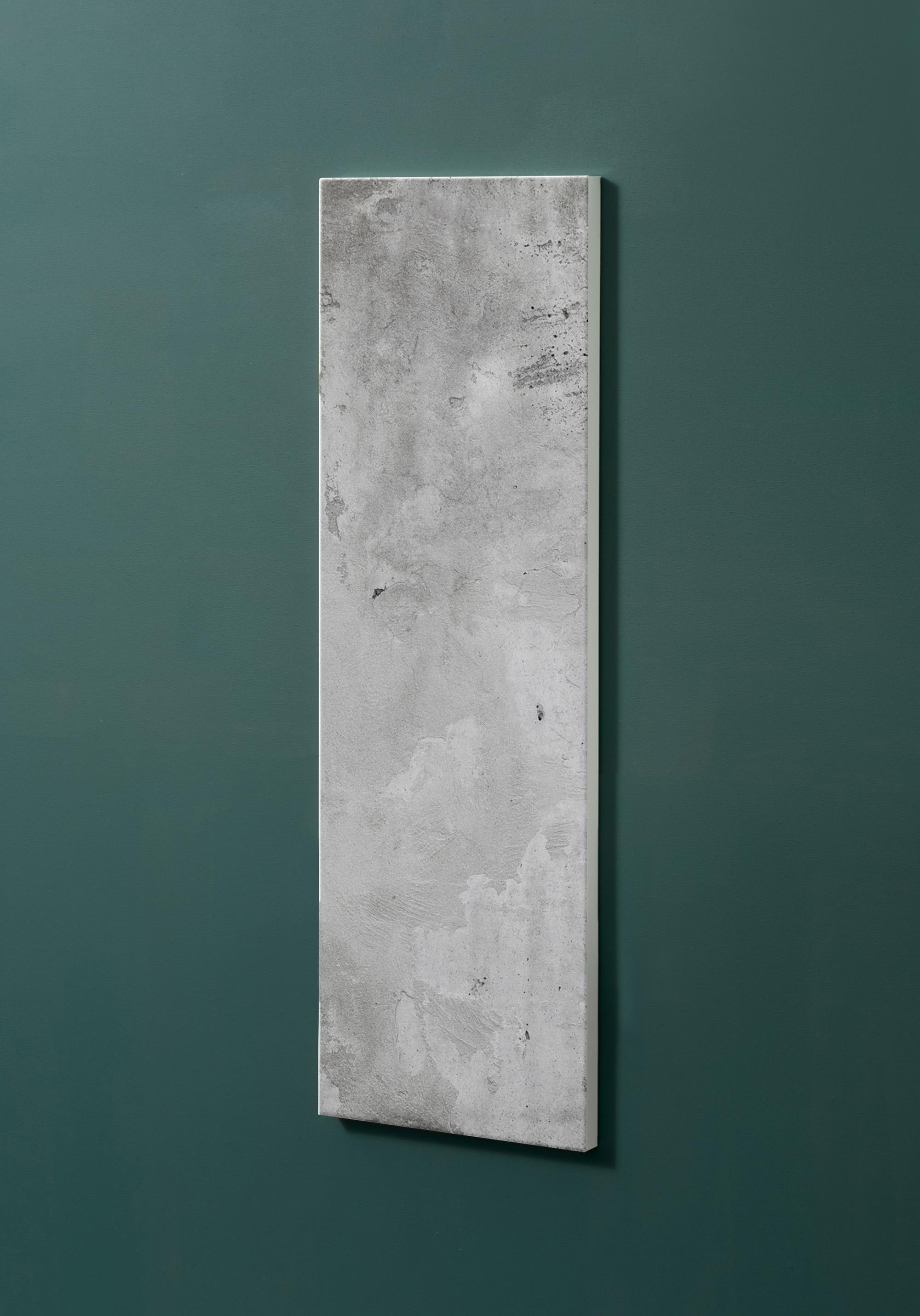 Magnettafel NOTIZ 30x90cm Motiv-Pinnwand M03 Beton