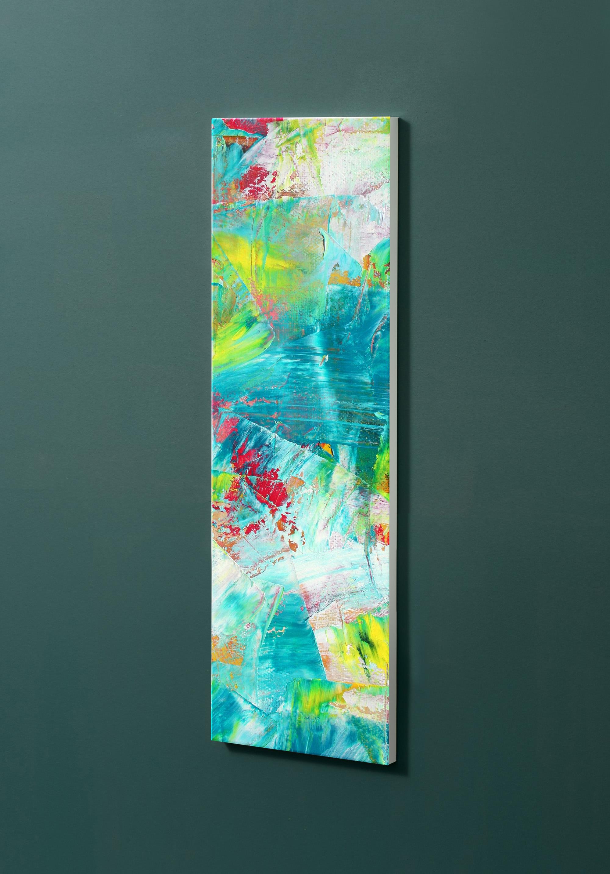 Magnettafel NOTIZ 30x90cm Motiv-Pinnwand M04 Abstrakt Kunst