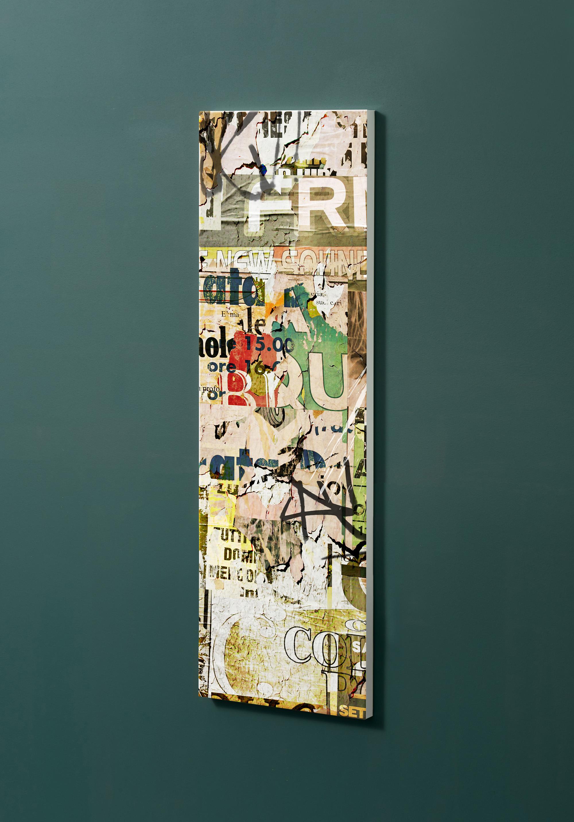 Magnettafel NOTIZ 30x90cm Motiv-Pinnwand M06 Plakate