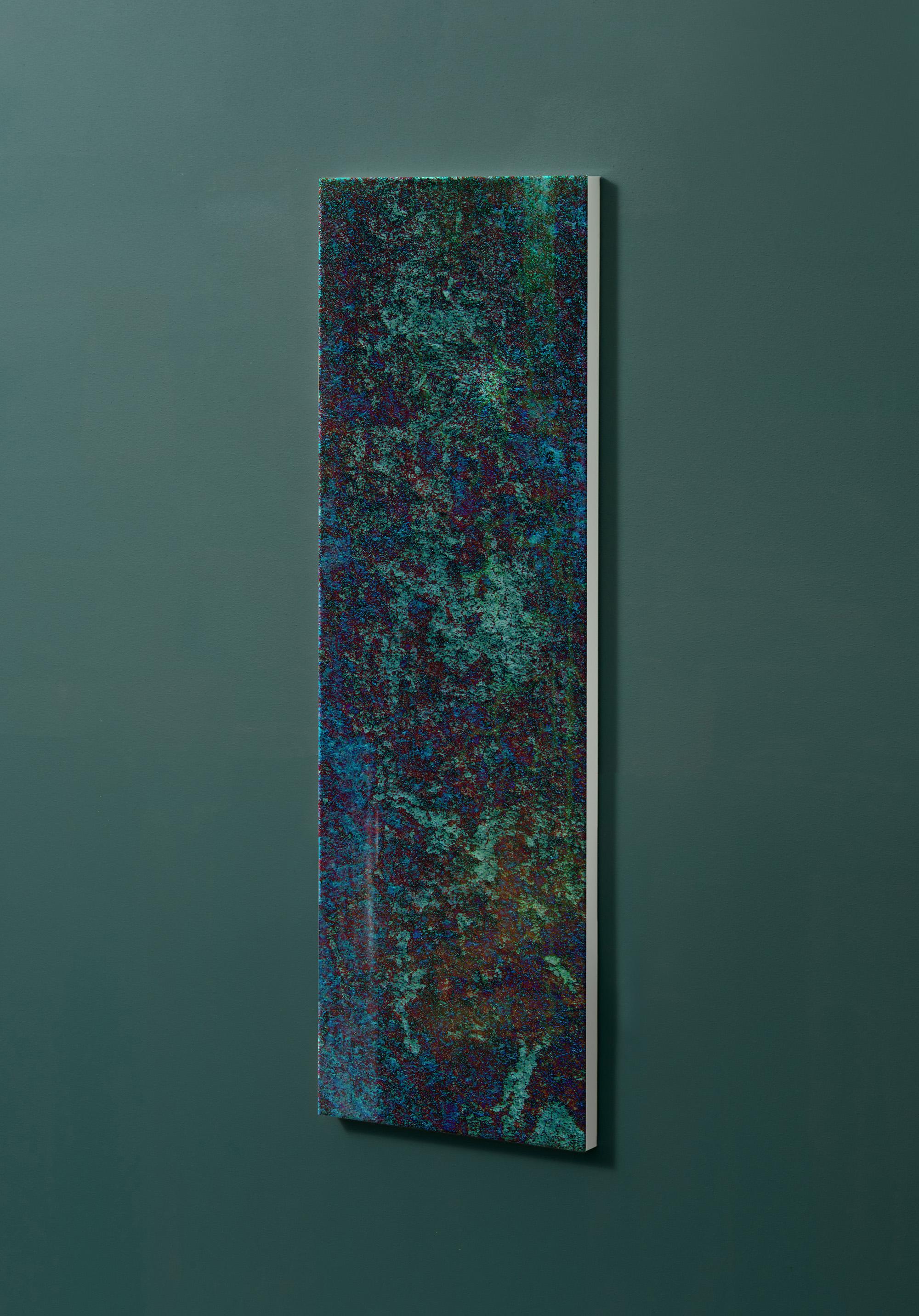 Magnettafel NOTIZ 30x90cm Motiv-Pinnwand M07 Kupfer