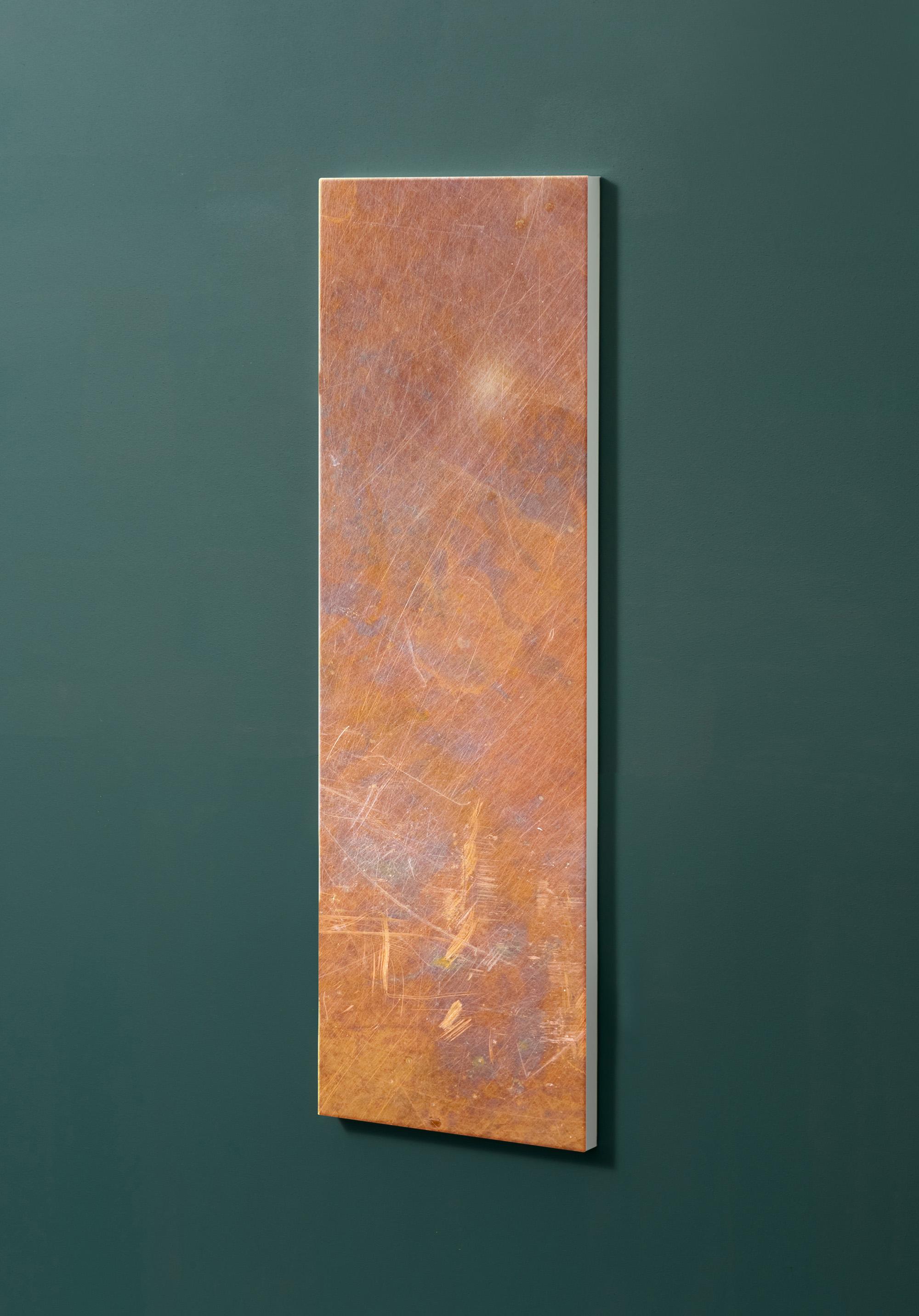 Magnettafel NOTIZ 30x90cm Motiv-Pinnwand M09 Rost