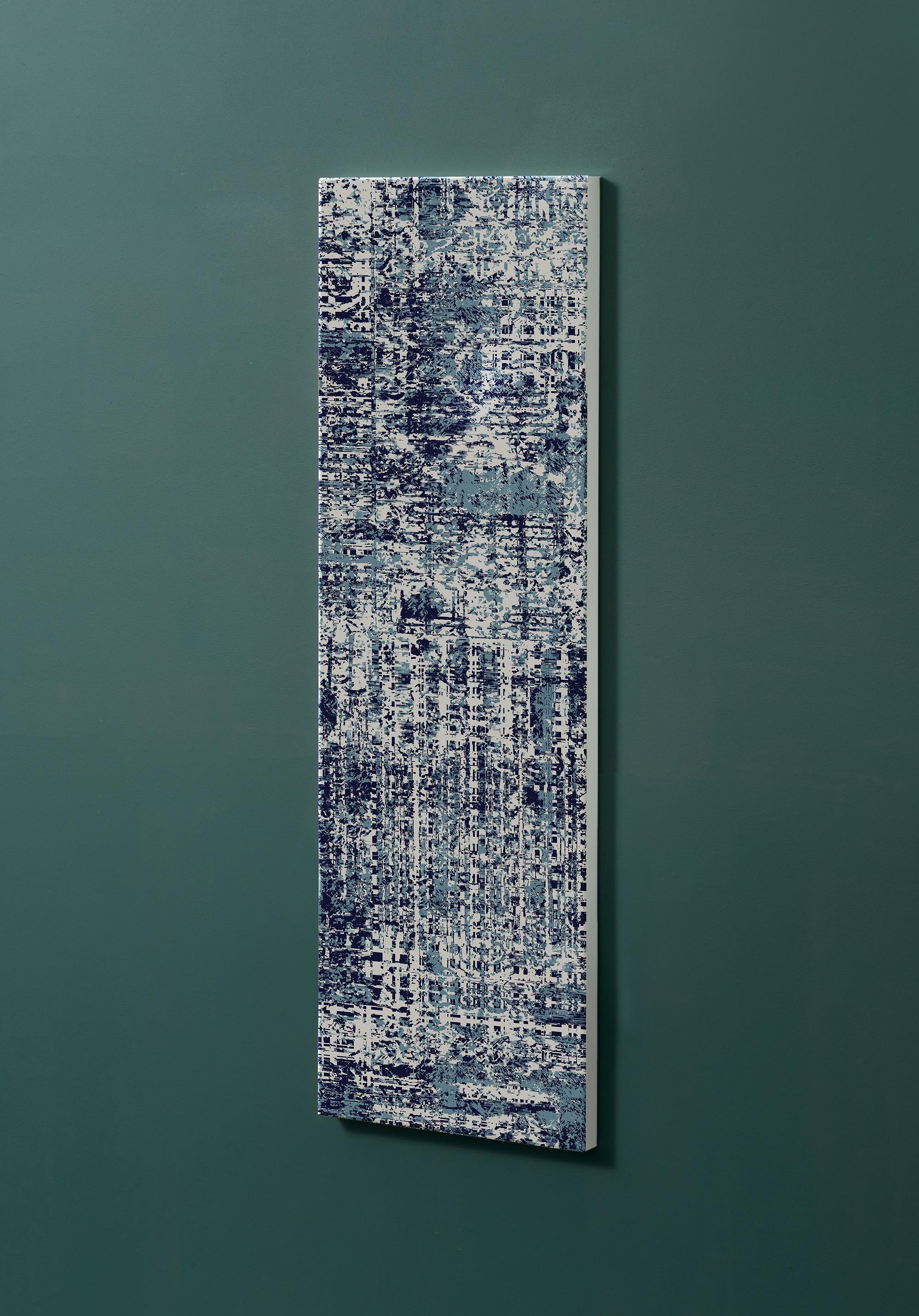 Magnettafel NOTIZ 30x90cm Motiv-Pinnwand M100 Tapete Vintage