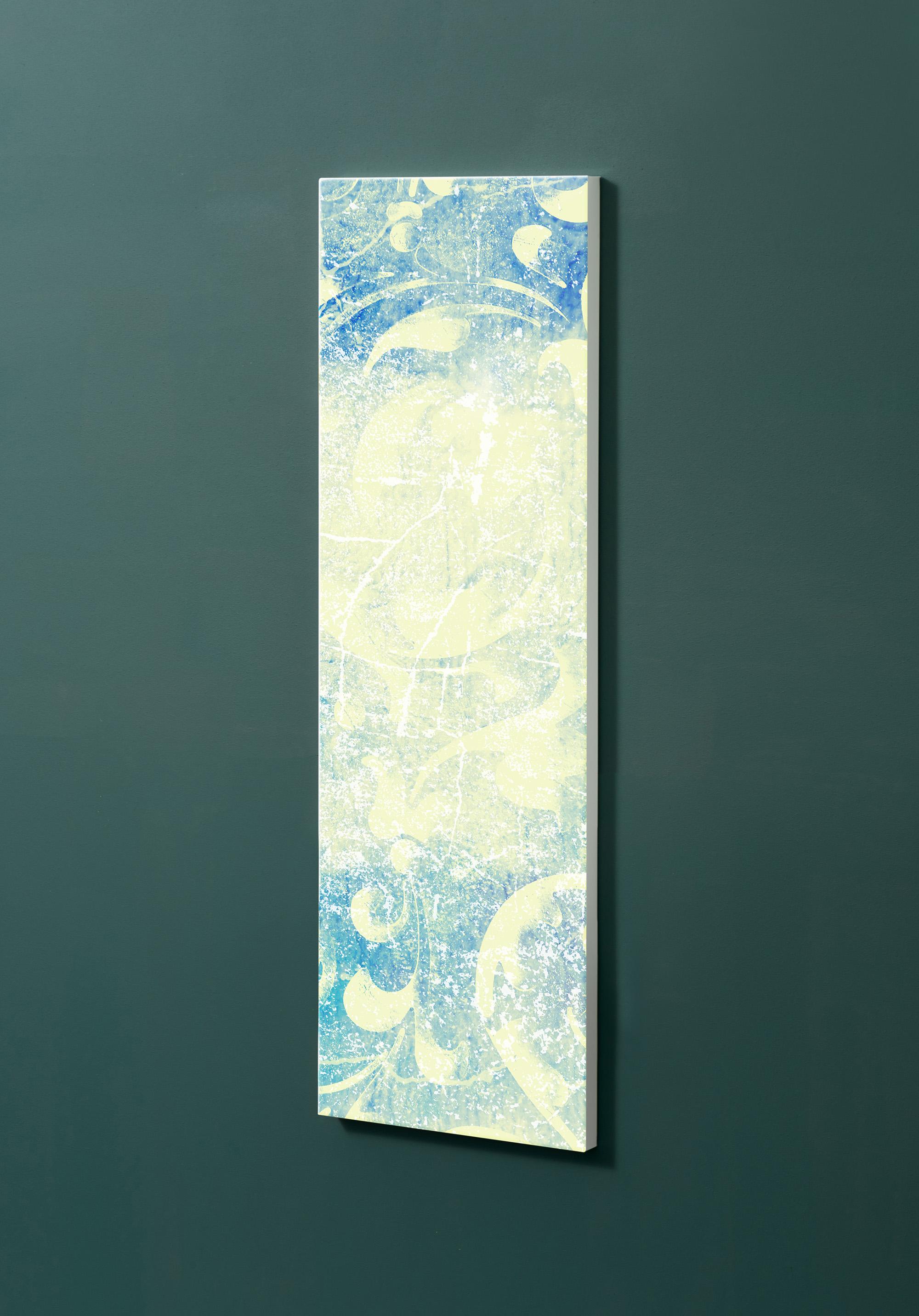 Magnettafel NOTIZ 30x90cm Motiv-Pinnwand M102 Tapete Vintage