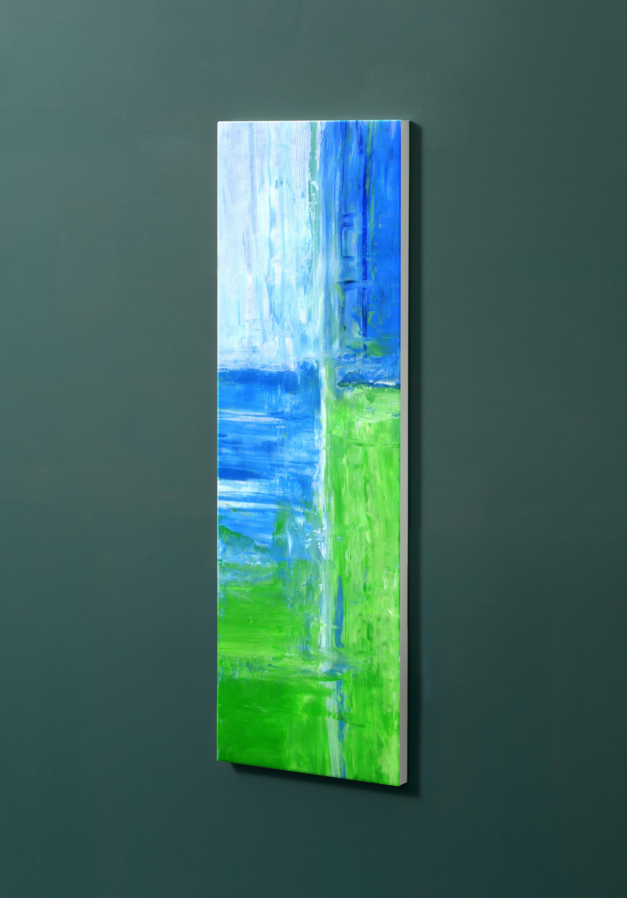 Magnettafel NOTIZ 30x90cm Motiv-Pinnwand M104 Abstrakt Kunst